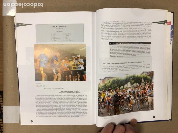 Coleccionismo deportivo: TXIRRINDULARITZA EIBAR (1910 - 1993). JUANJO SEBASTIÁN - BEGOÑA AZPIRI. CLUB CICLISTA EIBARRES - Foto 10 - 204526200