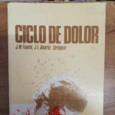 Coleccionismo deportivo: CICLO DE DOLOR. J.M. FUENTE (EL TARANGU) / J.L. ÁLVAREZ ZARAGOZA. Lote 205297886