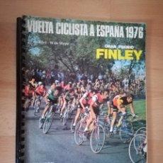Coleccionismo deportivo: VUELTA CICLISTA A ESPAÑA 1976. LIBRO OFICIAL DE RUTA.. Lote 205560441