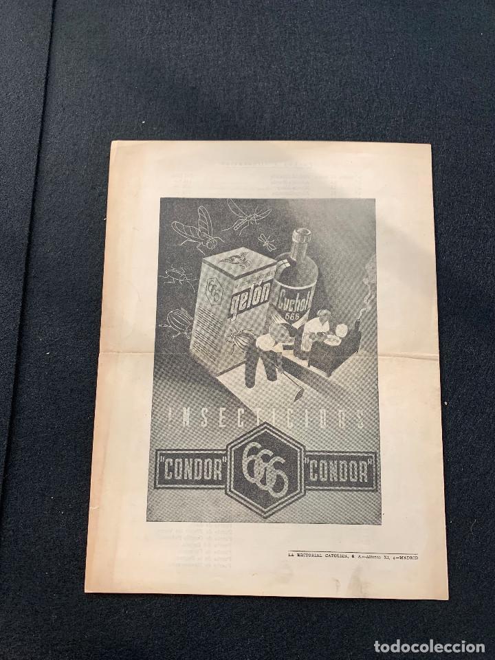 Coleccionismo deportivo: ITINERARIO VII VUELTA CICLISTA A ESPAÑA 1947 DELOOR - BERRENDERO - DELIO RODRIGUEZ - LANGARICA - Foto 4 - 205670562