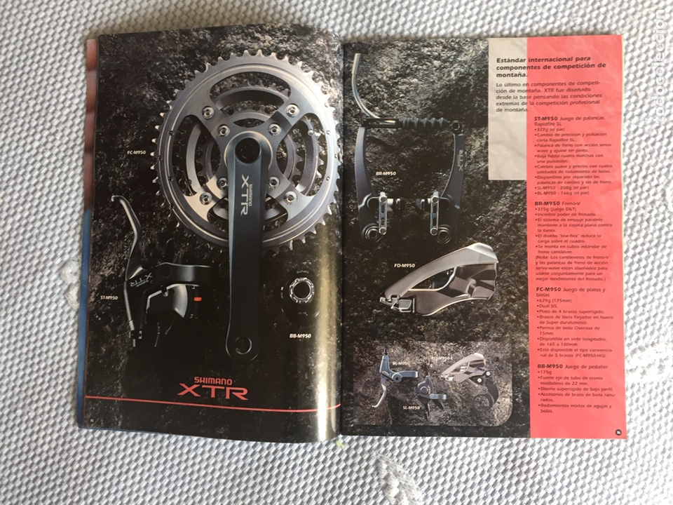 Coleccionismo deportivo: Catalogo de componentes de bicicleta 1997 - Foto 3 - 206512663