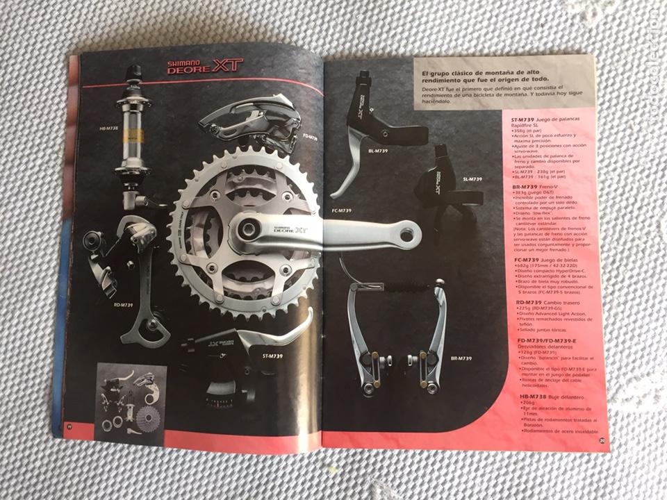 Coleccionismo deportivo: Catalogo de componentes de bicicleta 1997 - Foto 4 - 206512663