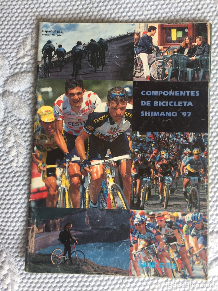 CATALOGO DE COMPONENTES DE BICICLETA 1997 (Coleccionismo Deportivo - Libros de Ciclismo)