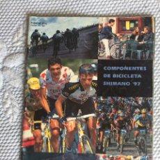 Coleccionismo deportivo: CATALOGO DE COMPONENTES DE BICICLETA 1997. Lote 206512663
