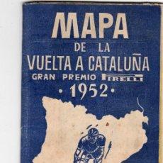 Coleccionismo deportivo: MAPA VUELTA A CATALUÑA 1962. Lote 207091795