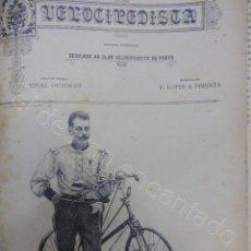 Coleccionismo deportivo: O VELOCIPEDISTA. CLUB DE PORTO. PUBLICACIÓN VELOCIPEDISTA. ORIGINAL EN UN TOMO. AÑO 1893. Lote 207264431
