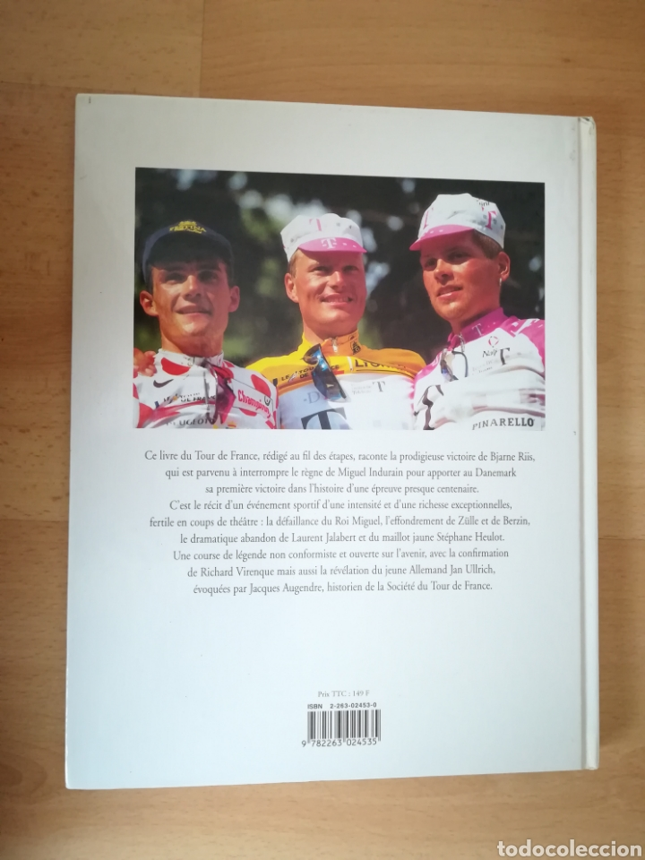 Coleccionismo deportivo: TOUR DE FRANCE 1996. Libro Oficial. - Foto 4 - 208064831
