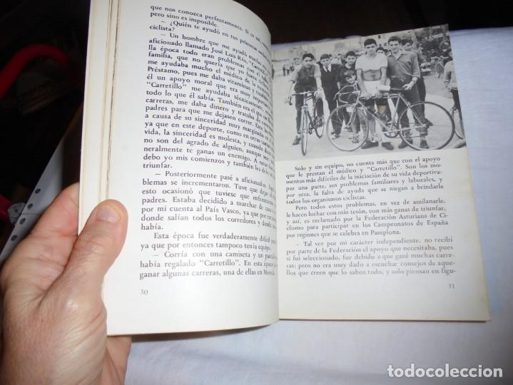 Coleccionismo deportivo: CICLO DE DOLOR.J.M.FUENTE(TARANGU).OVIEDO 1977.-2ª EDICION - Foto 9 - 209616905
