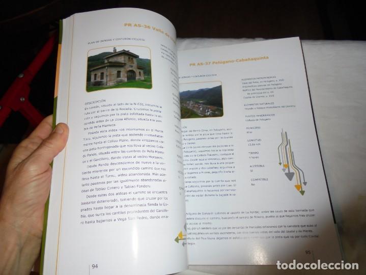 Coleccionismo deportivo: EL ANILLO CICLISTA DE LA MONTAÑA CENTRAL DE ASTURIAS.EL CICLISMO COMO RECURSO TURISTICO.2008 - Foto 7 - 209619560