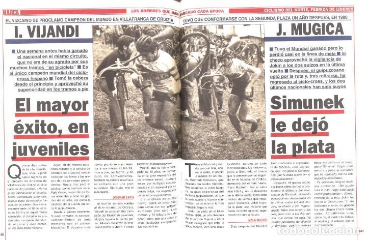 Coleccionismo deportivo: Marca. Ciclismo del Norte. Fábrica de líderes. 1994 - Foto 2 - 210019460