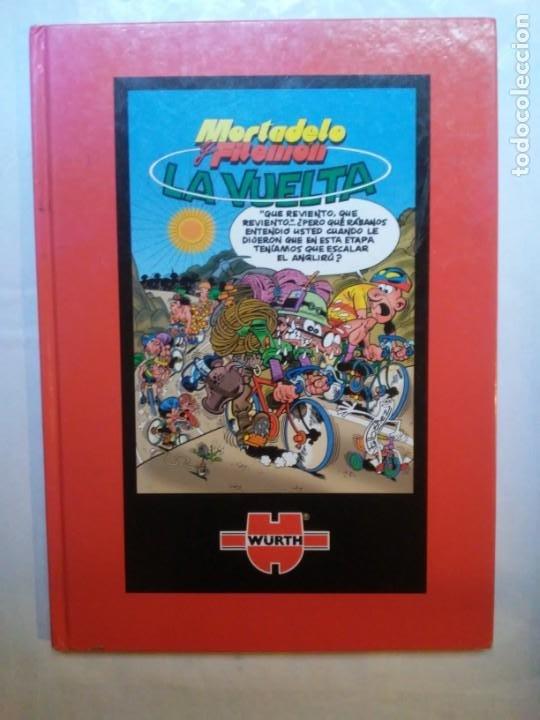 Coleccionismo deportivo: Mortadelo y Filemón La Vuelta Würth herramienta oficial Vuelta a España - Foto 23 - 210205308