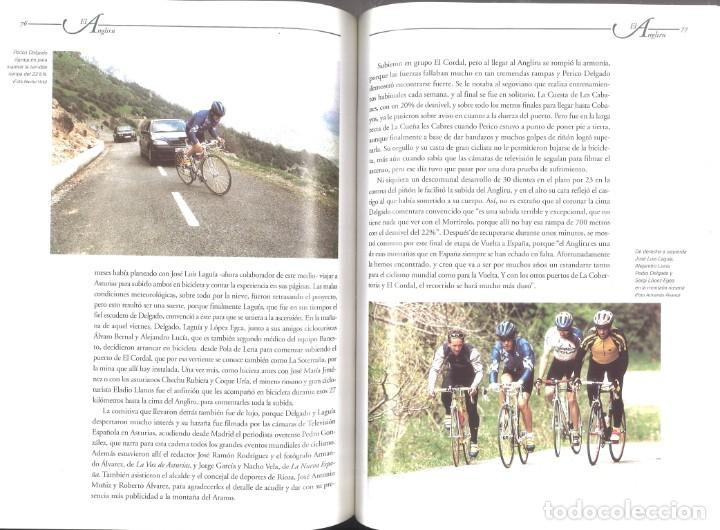Coleccionismo deportivo: Angliru, la nueva cumbre del ciclismo. José Enrique Cima. 1999 - Foto 2 - 218591963