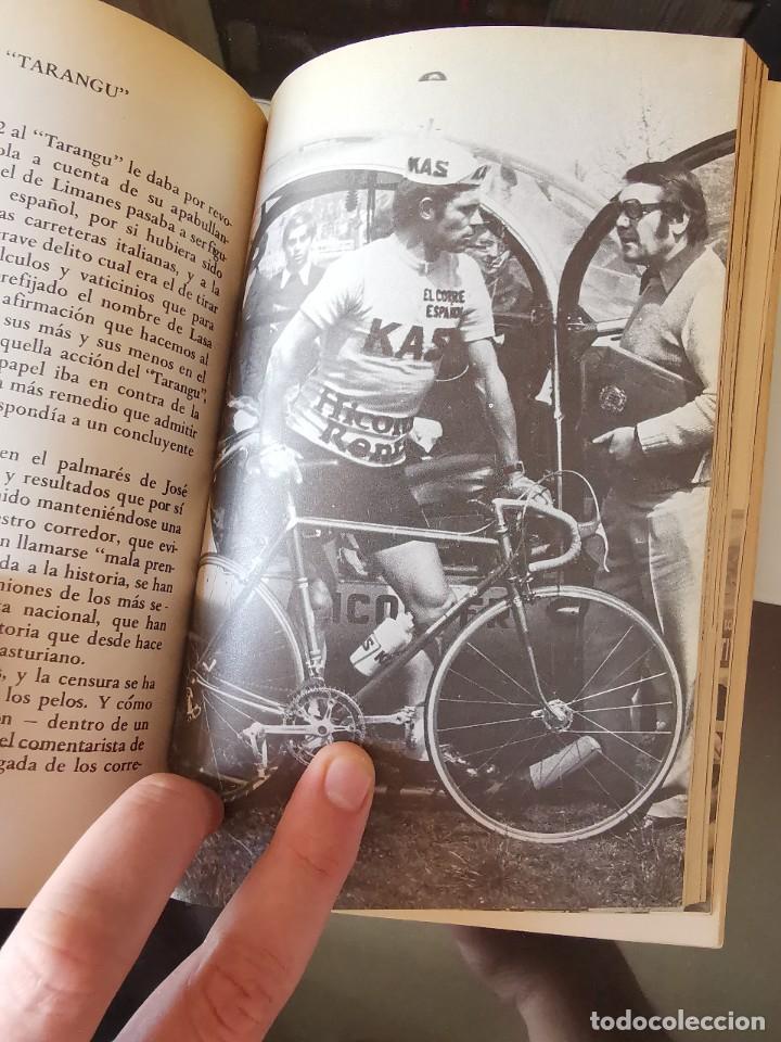 Coleccionismo deportivo: LIBRO CICLISMO CICLO DE DOLOR J.M. TARANGU 2ª EDICION VUELTA CICLISTA - Foto 5 - 219374277