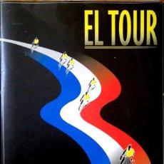 Coleccionismo deportivo: EL TOUR - 17 LAMINAS COLECCIONABLE EL PAIS - AÑOS 90 - CICLISMO. Lote 220472031