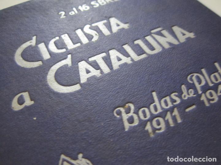 Coleccionismo deportivo: CICLISMO-XXV VUELTA CICLISTA A CATALUÑA-AÑO 1945-GRAN PREMIO PIRELLI-UD SANS-VER FOTOS-(K-728) - Foto 3 - 221609837