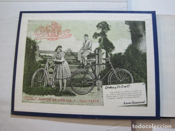 Coleccionismo deportivo: CICLISMO-XXV VUELTA CICLISTA A CATALUÑA-AÑO 1945-GRAN PREMIO PIRELLI-UD SANS-VER FOTOS-(K-728) - Foto 7 - 221609837