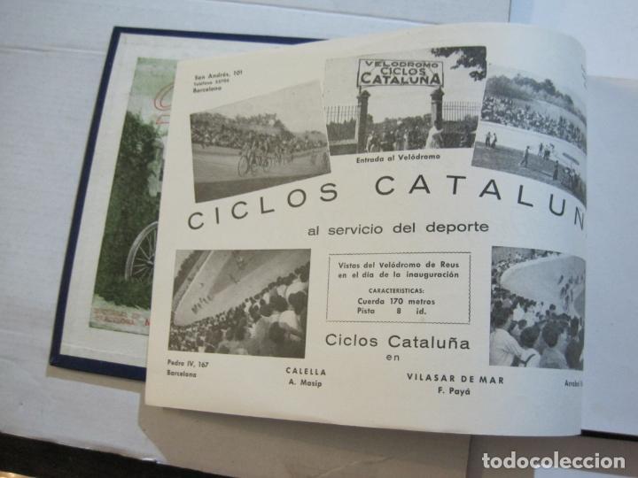 Coleccionismo deportivo: CICLISMO-XXV VUELTA CICLISTA A CATALUÑA-AÑO 1945-GRAN PREMIO PIRELLI-UD SANS-VER FOTOS-(K-728) - Foto 9 - 221609837