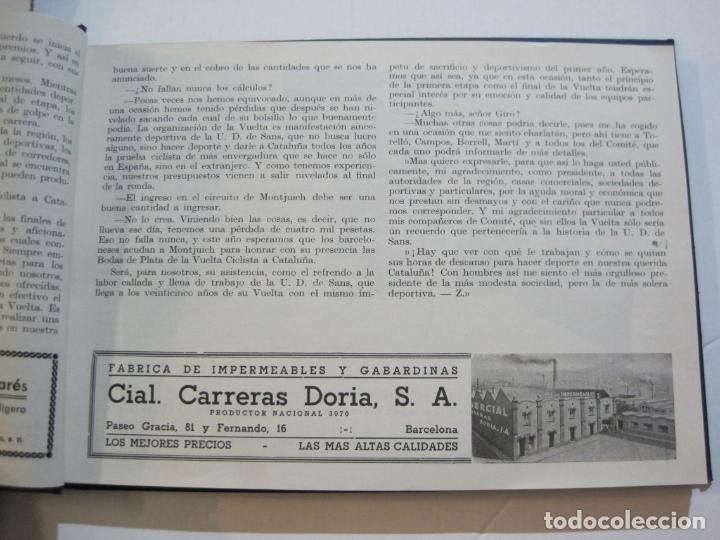 Coleccionismo deportivo: CICLISMO-XXV VUELTA CICLISTA A CATALUÑA-AÑO 1945-GRAN PREMIO PIRELLI-UD SANS-VER FOTOS-(K-728) - Foto 15 - 221609837