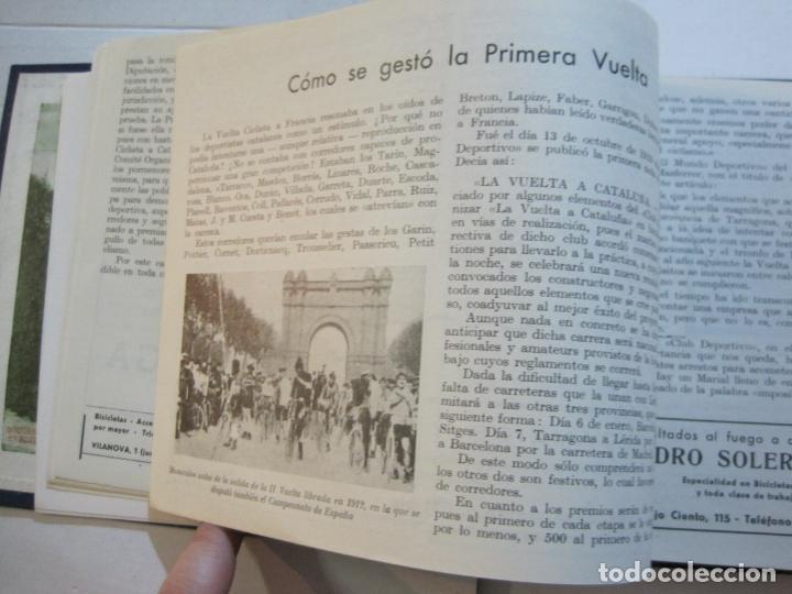 Coleccionismo deportivo: CICLISMO-XXV VUELTA CICLISTA A CATALUÑA-AÑO 1945-GRAN PREMIO PIRELLI-UD SANS-VER FOTOS-(K-728) - Foto 17 - 221609837