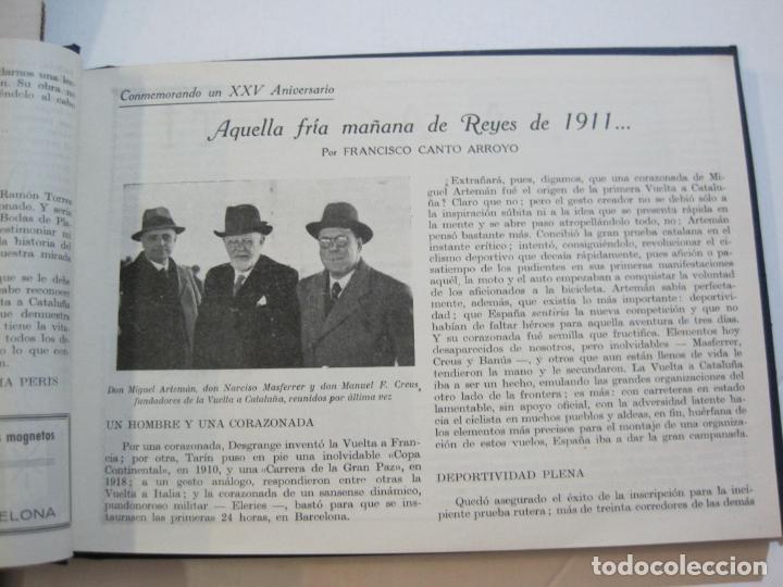 Coleccionismo deportivo: CICLISMO-XXV VUELTA CICLISTA A CATALUÑA-AÑO 1945-GRAN PREMIO PIRELLI-UD SANS-VER FOTOS-(K-728) - Foto 18 - 221609837