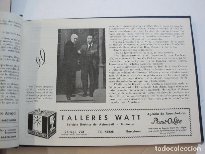 Coleccionismo deportivo: CICLISMO-XXV VUELTA CICLISTA A CATALUÑA-AÑO 1945-GRAN PREMIO PIRELLI-UD SANS-VER FOTOS-(K-728) - Foto 19 - 221609837