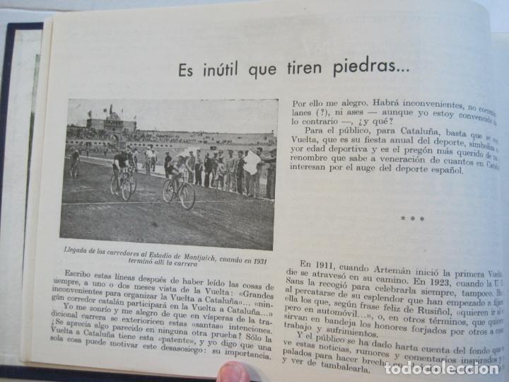 Coleccionismo deportivo: CICLISMO-XXV VUELTA CICLISTA A CATALUÑA-AÑO 1945-GRAN PREMIO PIRELLI-UD SANS-VER FOTOS-(K-728) - Foto 20 - 221609837