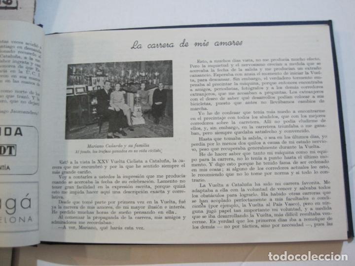 Coleccionismo deportivo: CICLISMO-XXV VUELTA CICLISTA A CATALUÑA-AÑO 1945-GRAN PREMIO PIRELLI-UD SANS-VER FOTOS-(K-728) - Foto 22 - 221609837
