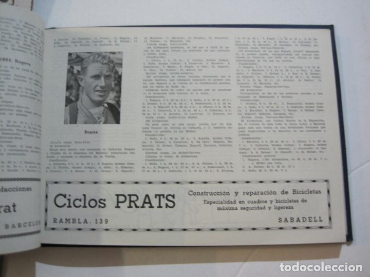 Coleccionismo deportivo: CICLISMO-XXV VUELTA CICLISTA A CATALUÑA-AÑO 1945-GRAN PREMIO PIRELLI-UD SANS-VER FOTOS-(K-728) - Foto 23 - 221609837