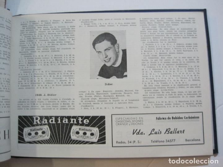 Coleccionismo deportivo: CICLISMO-XXV VUELTA CICLISTA A CATALUÑA-AÑO 1945-GRAN PREMIO PIRELLI-UD SANS-VER FOTOS-(K-728) - Foto 24 - 221609837
