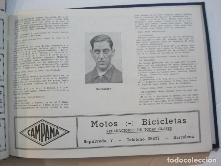 Coleccionismo deportivo: CICLISMO-XXV VUELTA CICLISTA A CATALUÑA-AÑO 1945-GRAN PREMIO PIRELLI-UD SANS-VER FOTOS-(K-728) - Foto 25 - 221609837