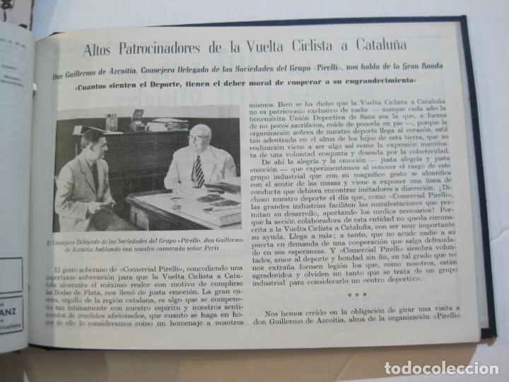 Coleccionismo deportivo: CICLISMO-XXV VUELTA CICLISTA A CATALUÑA-AÑO 1945-GRAN PREMIO PIRELLI-UD SANS-VER FOTOS-(K-728) - Foto 26 - 221609837