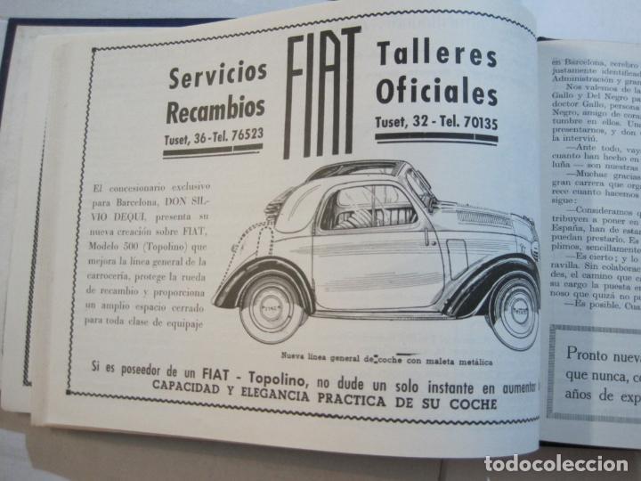 Coleccionismo deportivo: CICLISMO-XXV VUELTA CICLISTA A CATALUÑA-AÑO 1945-GRAN PREMIO PIRELLI-UD SANS-VER FOTOS-(K-728) - Foto 27 - 221609837