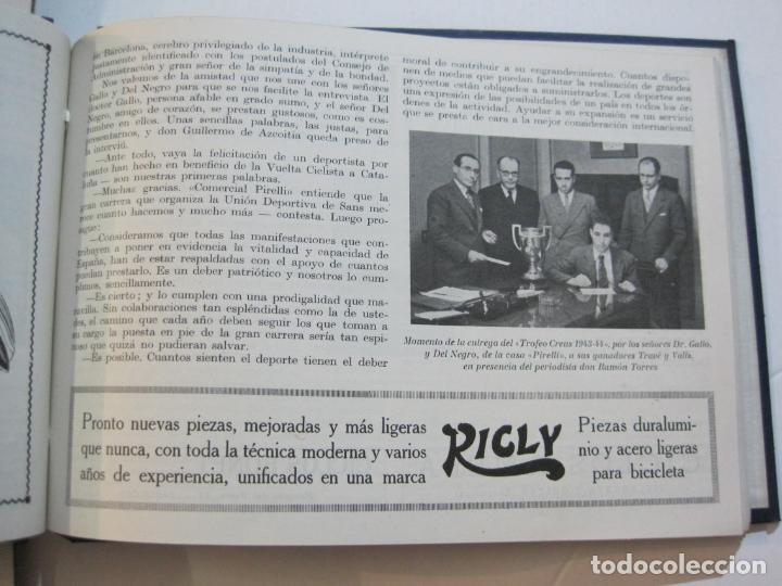 Coleccionismo deportivo: CICLISMO-XXV VUELTA CICLISTA A CATALUÑA-AÑO 1945-GRAN PREMIO PIRELLI-UD SANS-VER FOTOS-(K-728) - Foto 28 - 221609837