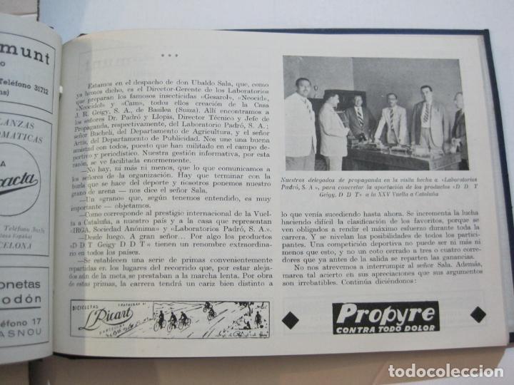 Coleccionismo deportivo: CICLISMO-XXV VUELTA CICLISTA A CATALUÑA-AÑO 1945-GRAN PREMIO PIRELLI-UD SANS-VER FOTOS-(K-728) - Foto 29 - 221609837