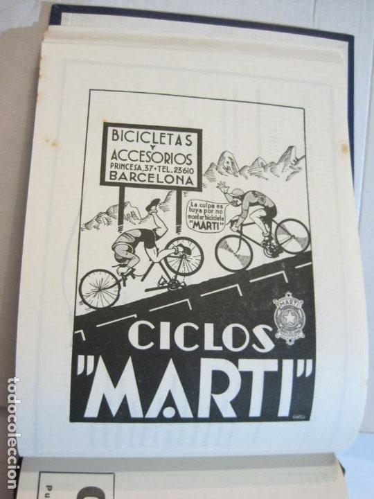 Coleccionismo deportivo: CICLISMO-XXV VUELTA CICLISTA A CATALUÑA-AÑO 1945-GRAN PREMIO PIRELLI-UD SANS-VER FOTOS-(K-728) - Foto 30 - 221609837