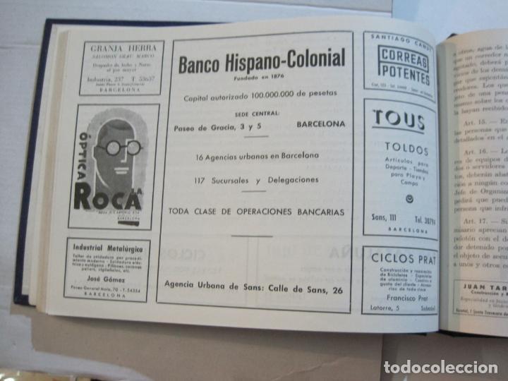 Coleccionismo deportivo: CICLISMO-XXV VUELTA CICLISTA A CATALUÑA-AÑO 1945-GRAN PREMIO PIRELLI-UD SANS-VER FOTOS-(K-728) - Foto 32 - 221609837