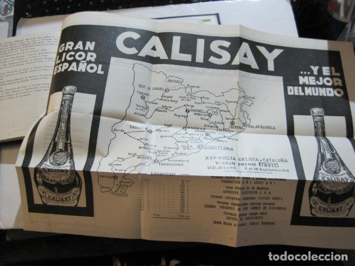 Coleccionismo deportivo: CICLISMO-XXV VUELTA CICLISTA A CATALUÑA-AÑO 1945-GRAN PREMIO PIRELLI-UD SANS-VER FOTOS-(K-728) - Foto 33 - 221609837