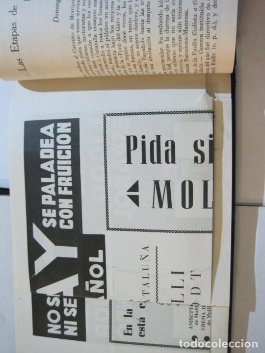 Coleccionismo deportivo: CICLISMO-XXV VUELTA CICLISTA A CATALUÑA-AÑO 1945-GRAN PREMIO PIRELLI-UD SANS-VER FOTOS-(K-728) - Foto 36 - 221609837