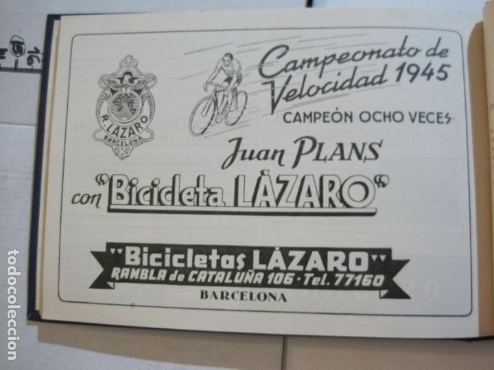 Coleccionismo deportivo: CICLISMO-XXV VUELTA CICLISTA A CATALUÑA-AÑO 1945-GRAN PREMIO PIRELLI-UD SANS-VER FOTOS-(K-728) - Foto 39 - 221609837