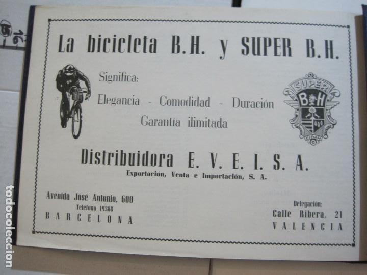 Coleccionismo deportivo: CICLISMO-XXV VUELTA CICLISTA A CATALUÑA-AÑO 1945-GRAN PREMIO PIRELLI-UD SANS-VER FOTOS-(K-728) - Foto 40 - 221609837