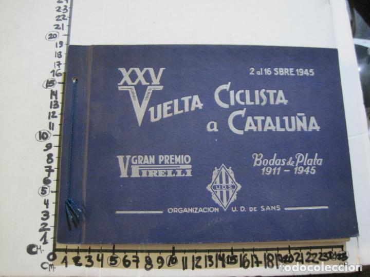 Coleccionismo deportivo: CICLISMO-XXV VUELTA CICLISTA A CATALUÑA-AÑO 1945-GRAN PREMIO PIRELLI-UD SANS-VER FOTOS-(K-728) - Foto 43 - 221609837