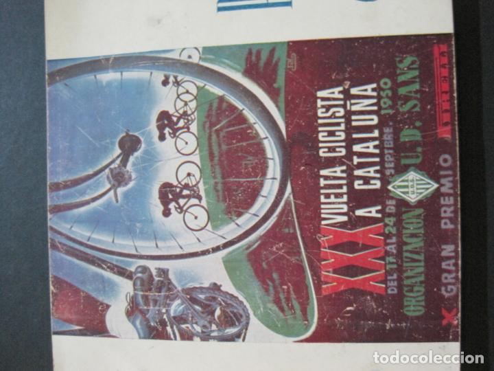 Coleccionismo deportivo: CICLISMO-XXX VUELTA CICLISTA A CATALUÑA-PREMIO PIRELLI-AÑO 1950-PROGRAMA ANTIGUO-VER FOTOS-(K-1001) - Foto 2 - 224248585