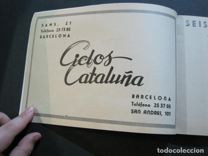 Coleccionismo deportivo: CICLISMO-XXX VUELTA CICLISTA A CATALUÑA-PREMIO PIRELLI-AÑO 1950-PROGRAMA ANTIGUO-VER FOTOS-(K-1001) - Foto 6 - 224248585