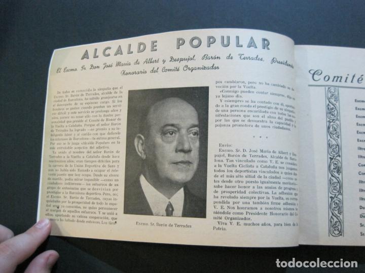 Coleccionismo deportivo: CICLISMO-XXX VUELTA CICLISTA A CATALUÑA-PREMIO PIRELLI-AÑO 1950-PROGRAMA ANTIGUO-VER FOTOS-(K-1001) - Foto 8 - 224248585