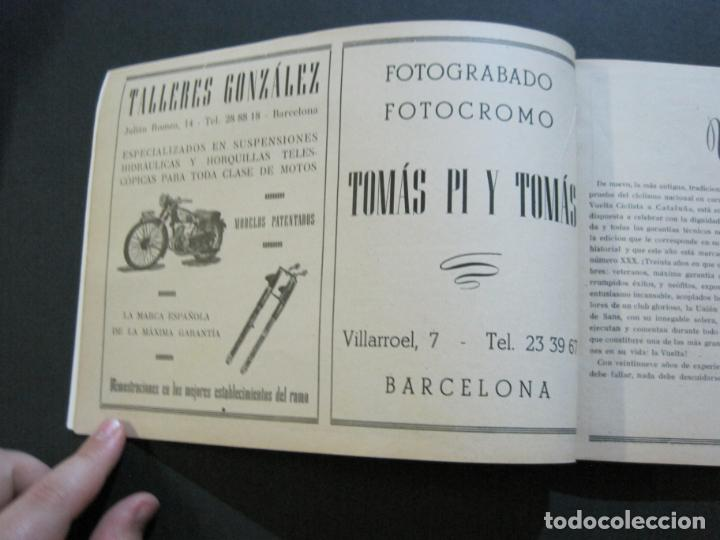 Coleccionismo deportivo: CICLISMO-XXX VUELTA CICLISTA A CATALUÑA-PREMIO PIRELLI-AÑO 1950-PROGRAMA ANTIGUO-VER FOTOS-(K-1001) - Foto 12 - 224248585