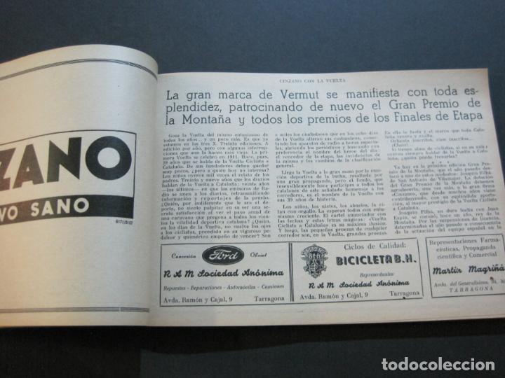 Coleccionismo deportivo: CICLISMO-XXX VUELTA CICLISTA A CATALUÑA-PREMIO PIRELLI-AÑO 1950-PROGRAMA ANTIGUO-VER FOTOS-(K-1001) - Foto 18 - 224248585