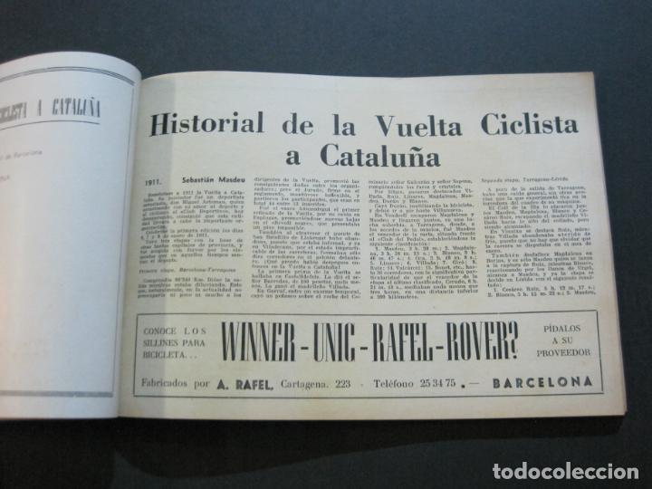 Coleccionismo deportivo: CICLISMO-XXX VUELTA CICLISTA A CATALUÑA-PREMIO PIRELLI-AÑO 1950-PROGRAMA ANTIGUO-VER FOTOS-(K-1001) - Foto 21 - 224248585