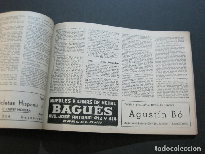 Coleccionismo deportivo: CICLISMO-XXX VUELTA CICLISTA A CATALUÑA-PREMIO PIRELLI-AÑO 1950-PROGRAMA ANTIGUO-VER FOTOS-(K-1001) - Foto 23 - 224248585