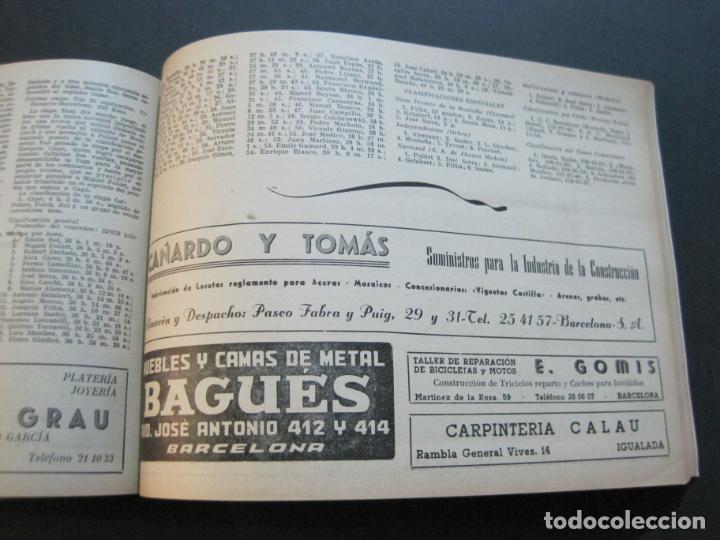 Coleccionismo deportivo: CICLISMO-XXX VUELTA CICLISTA A CATALUÑA-PREMIO PIRELLI-AÑO 1950-PROGRAMA ANTIGUO-VER FOTOS-(K-1001) - Foto 26 - 224248585