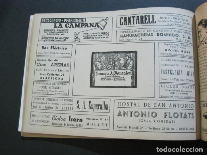 Coleccionismo deportivo: CICLISMO-XXX VUELTA CICLISTA A CATALUÑA-PREMIO PIRELLI-AÑO 1950-PROGRAMA ANTIGUO-VER FOTOS-(K-1001) - Foto 29 - 224248585